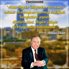 Cənab Adnan Oktar deyirki
