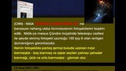Axirzaman əlamətləri - Kosmosda insan əli formasında görüntü